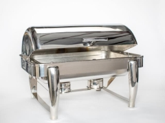 Rental store for Roll Top Stainless Chafer in Ellsworth and Rockland ME