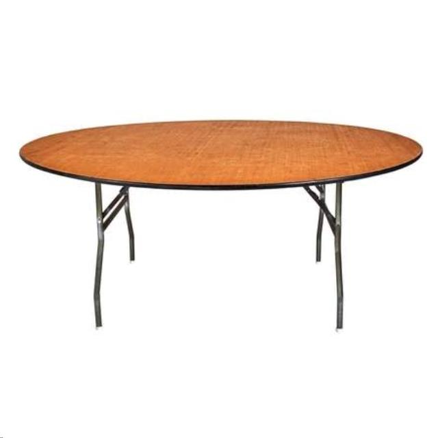 6 Foot Round Table Rentals Ellsworth And Rockland Me