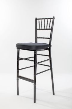 Rental store for Black Chiavari Barstool Ballroom Chair in Ellsworth and Rockland ME