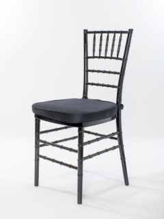Rental store for Black Chiavari Ballroom Chair in Ellsworth and Rockland ME