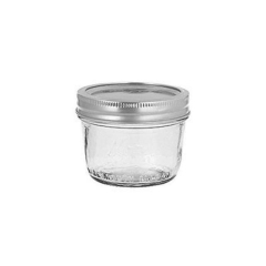 Rental store for 8 oz Wide Mouth Mason Jar  No Handle in Ellsworth and Rockland ME
