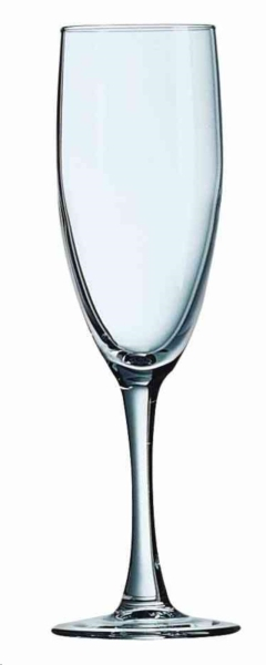 Rental store for Fluted Champagne Glass 5.75 oz in Ellsworth and Rockland ME