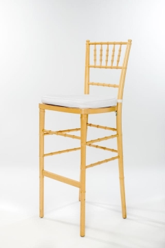 Rental store for Natural Wood Chiavari Barstool Ballroom in Ellsworth and Rockland ME