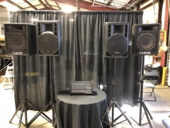 Rental store for PA System  4 Speaker in Ellsworth and Rockland ME