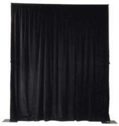Rental store for Pipe and Drape Backdrop 8   Per Sect in Ellsworth and Rockland ME