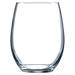 Rental store for Perfection Stemless Wine Glass 15oz in Ellsworth and Rockland ME